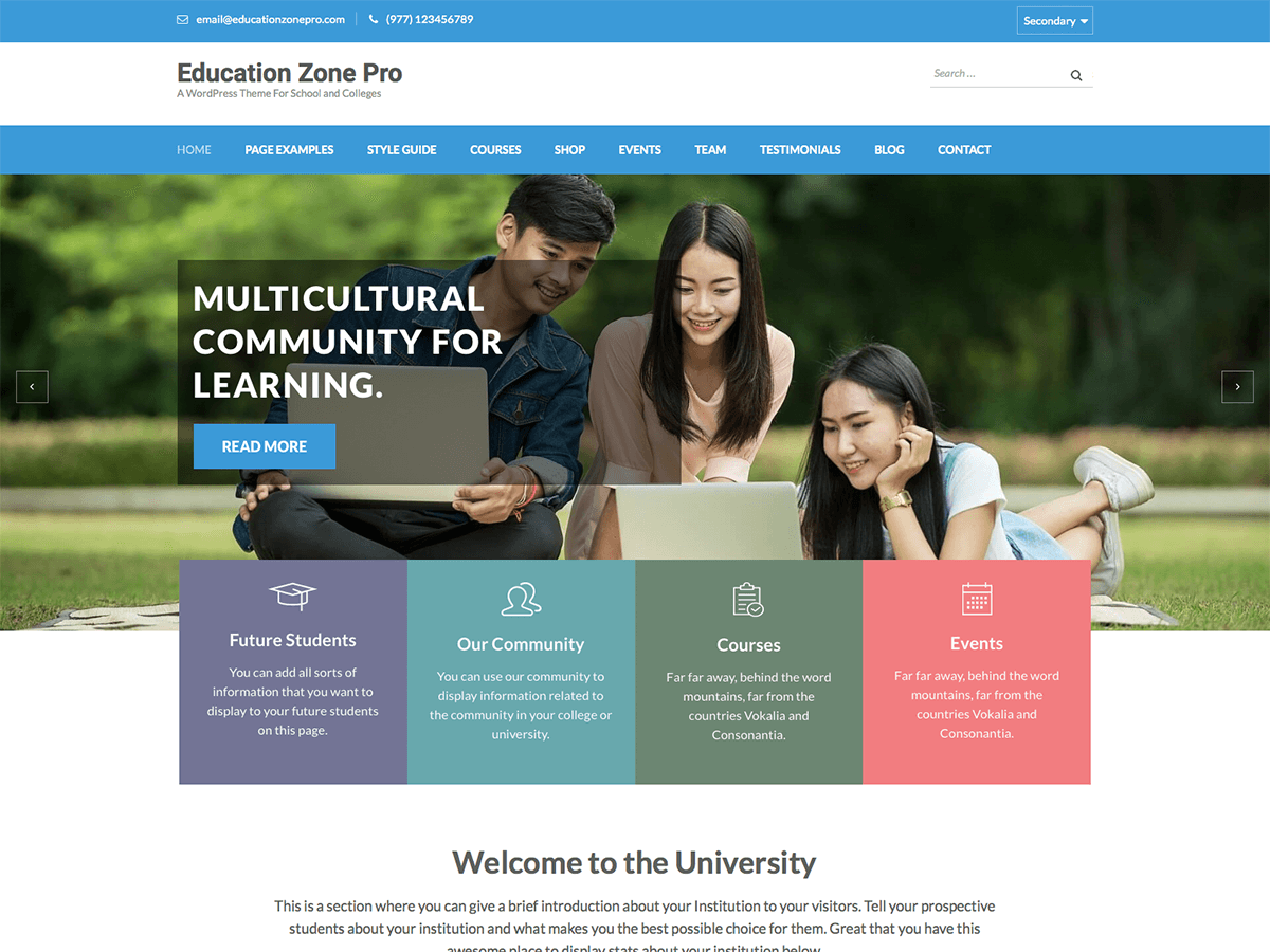 Education Zone Pro