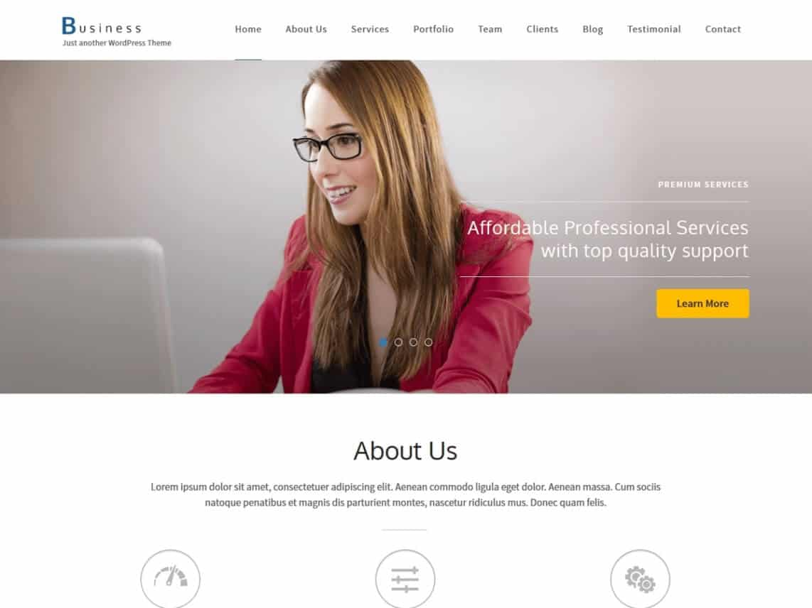 Business One Page