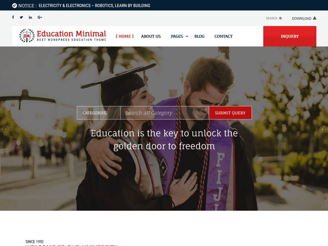 Education Minimal