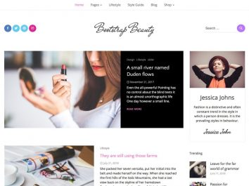 Bootstrap Beauty