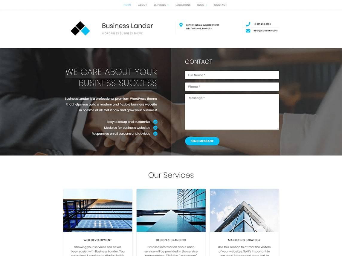 Business Lander