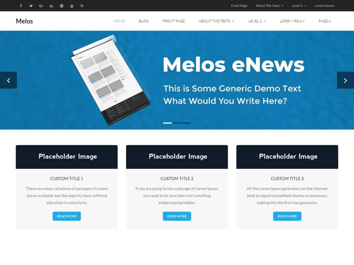 Melos eNews
