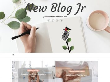 New Blog Jr